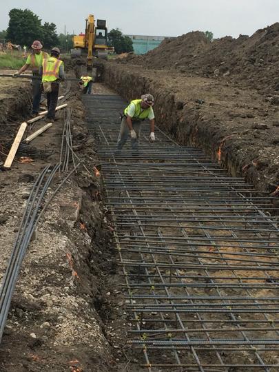 Reinforcing Steel Installation Projects – Black Swamp Steel